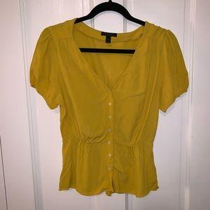 Yellow J.Crew blouse (4P)